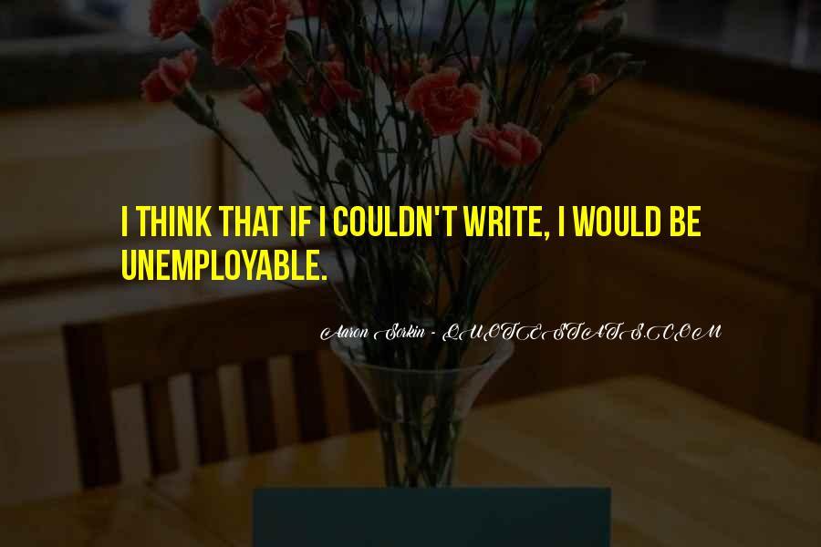 Best Sorkin Quotes #352444