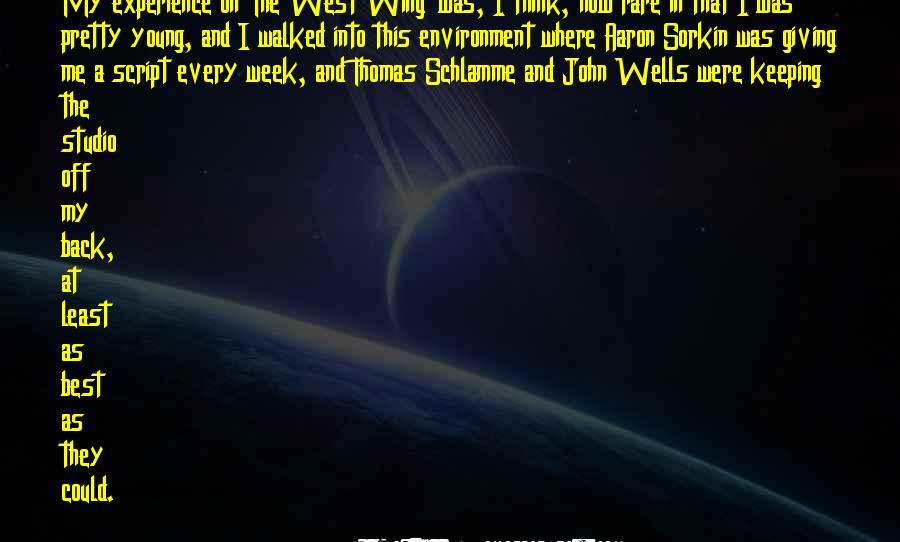 Best Sorkin Quotes #515344