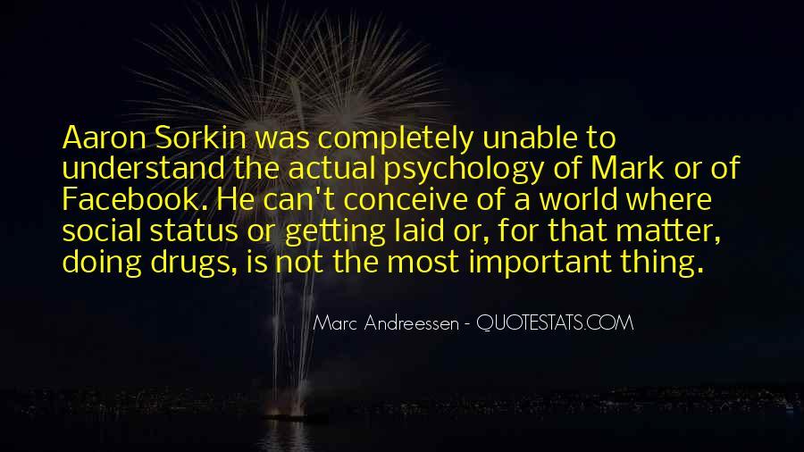 Best Sorkin Quotes #69380