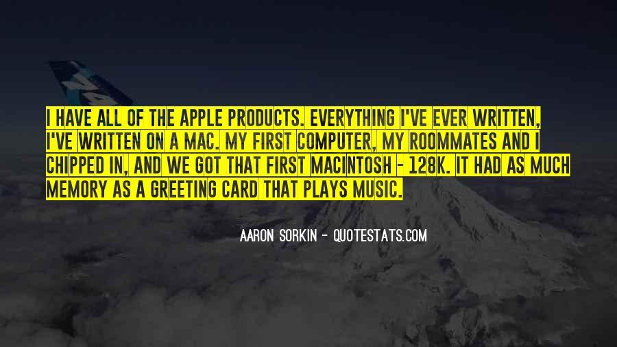 Best Sorkin Quotes #91644