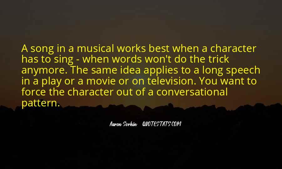 Best Sorkin Quotes #938462
