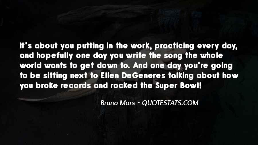Quotes About The Super Bowl #11452