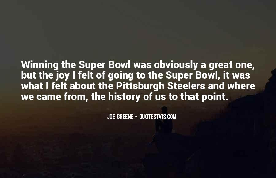 Quotes About The Super Bowl #435546