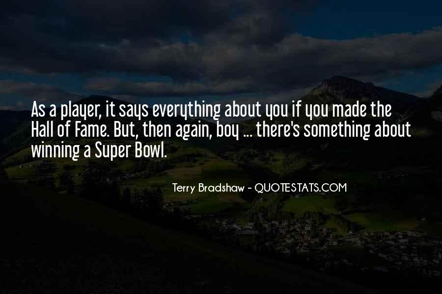 Quotes About The Super Bowl #575718
