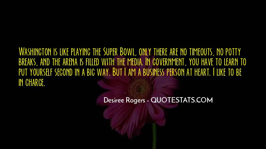 Quotes About The Super Bowl #607285