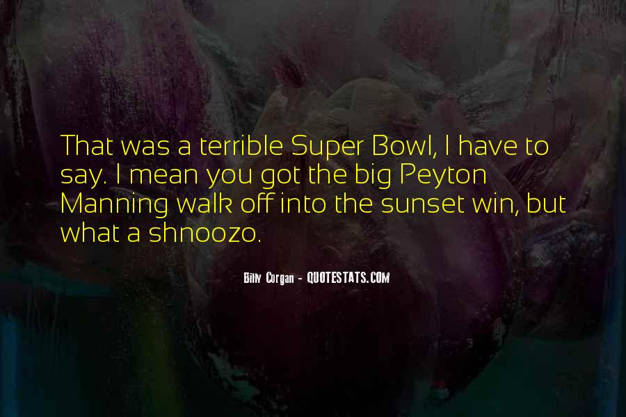 Quotes About The Super Bowl #735523