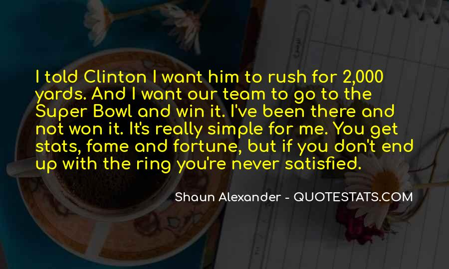 Quotes About The Super Bowl #785543