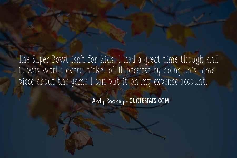 Quotes About The Super Bowl #84158