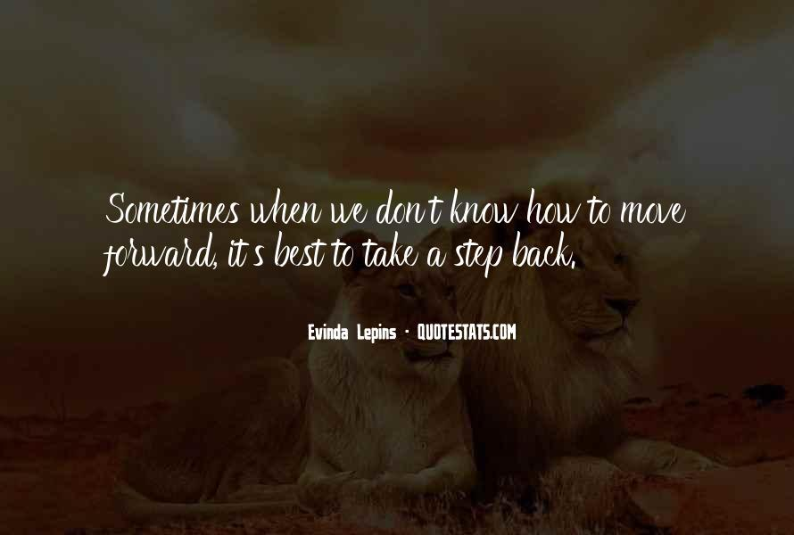 Best Step Forward Quotes #1362899