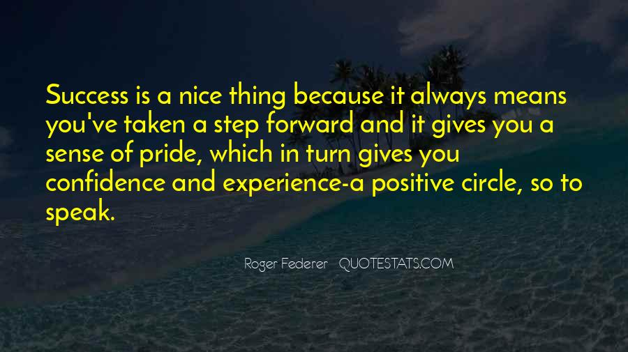Best Step Forward Quotes #2276
