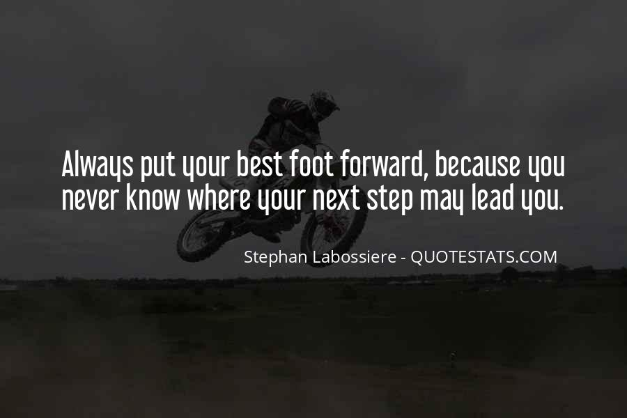 Best Step Forward Quotes #504223