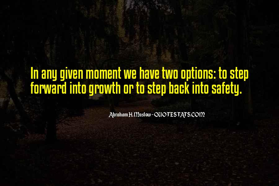 Best Step Forward Quotes #738