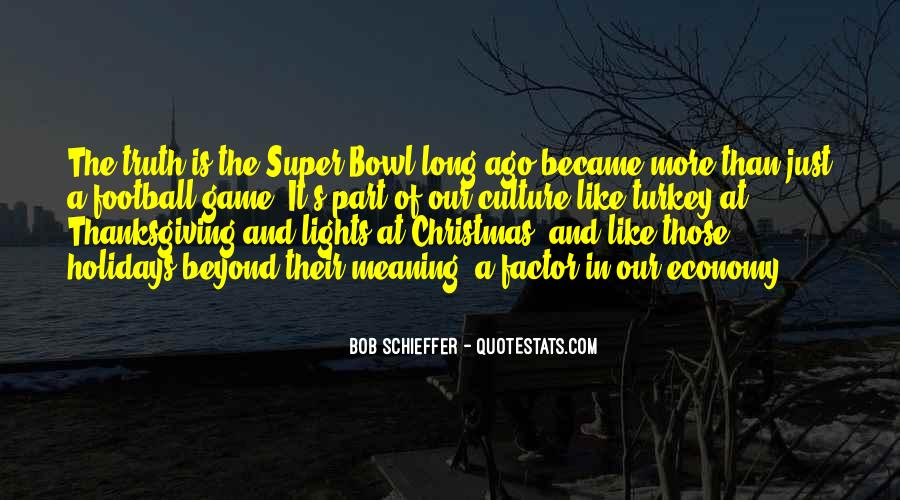 Best Super Bowl Quotes #104568