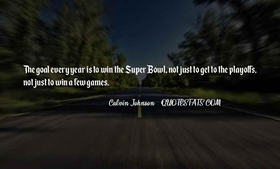 Best Super Bowl Quotes #163723