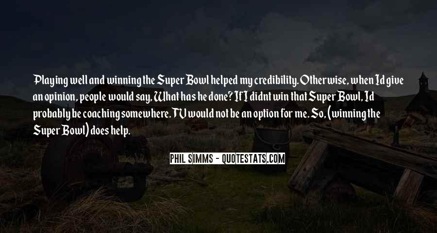 Best Super Bowl Quotes #261711