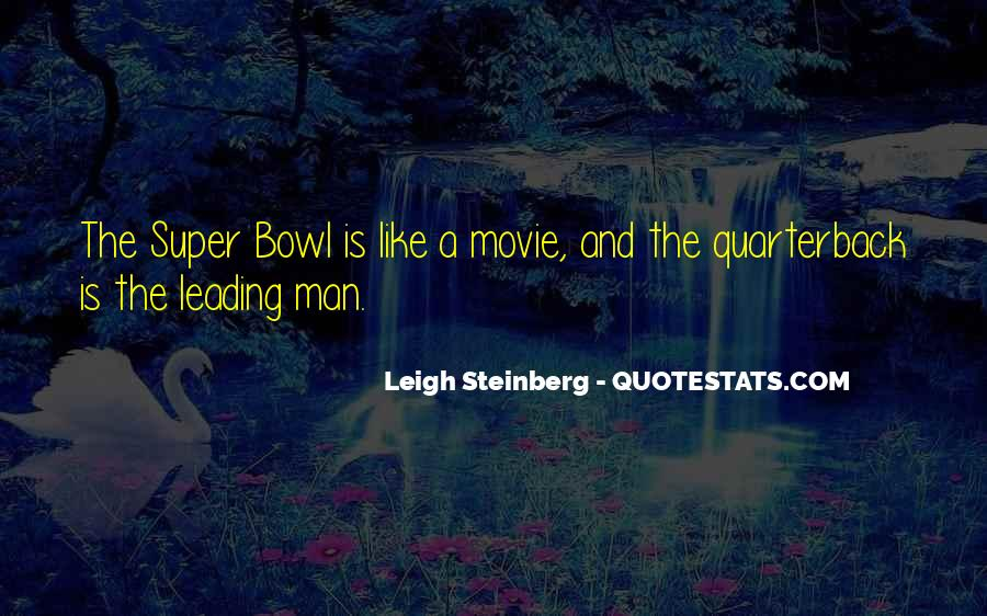 Best Super Bowl Quotes #276980