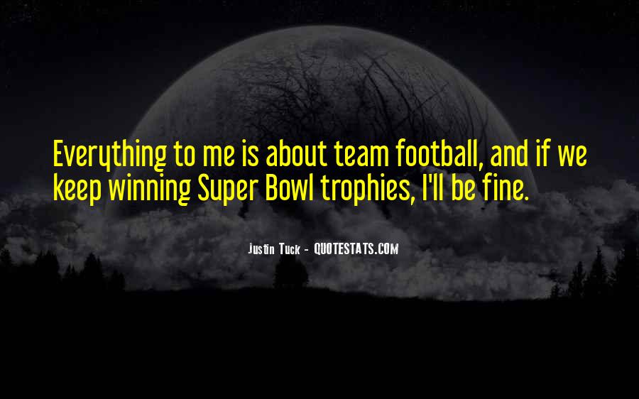 Best Super Bowl Quotes #314526