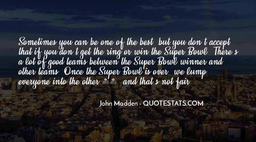 Best Super Bowl Quotes #386095