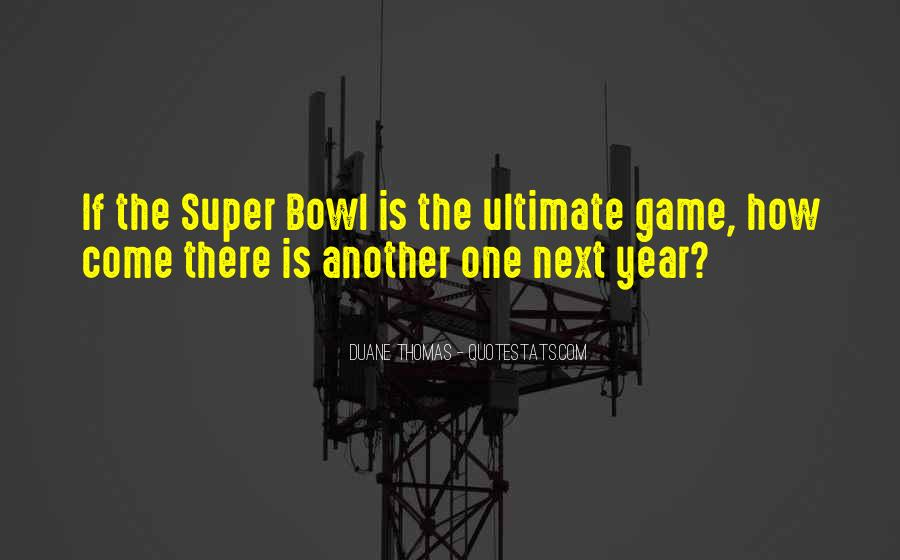 Best Super Bowl Quotes #45800