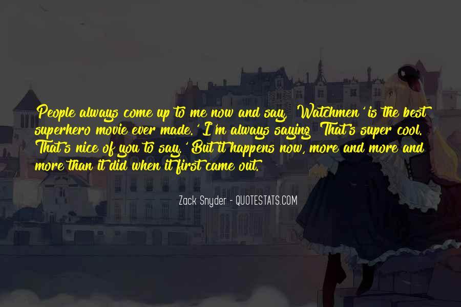 Best Superhero Quotes #1150611