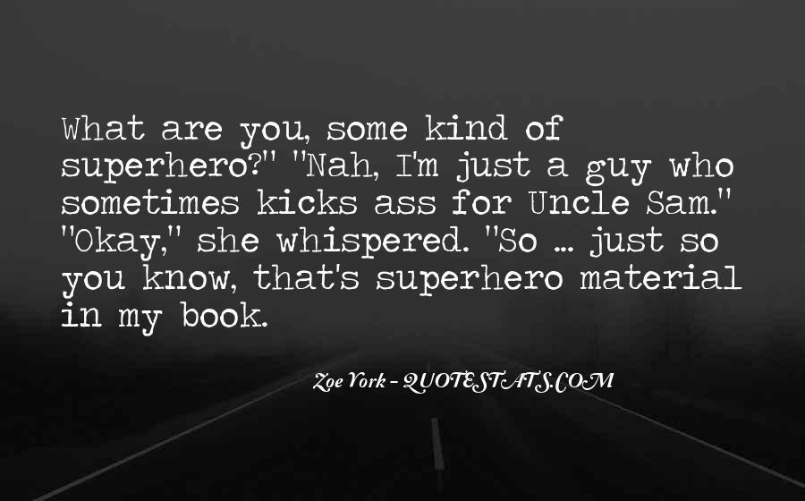 Best Superhero Quotes #20728
