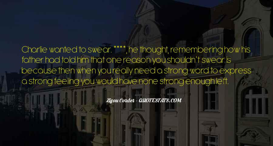Best Swear Word Quotes #1511471