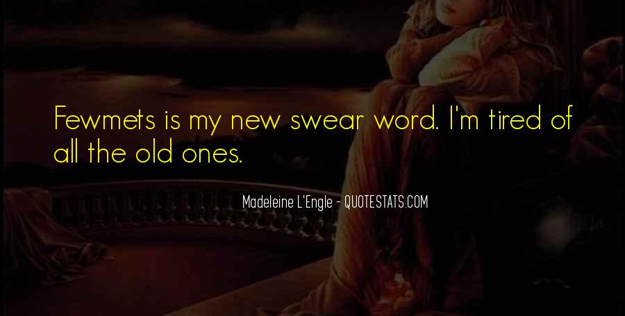 Best Swear Word Quotes #731183