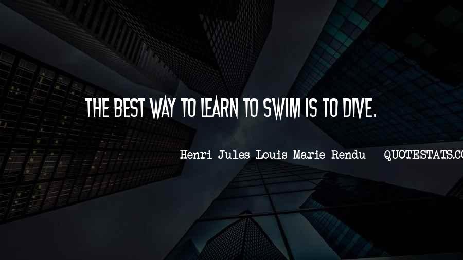 Best Swim Quotes #1075386