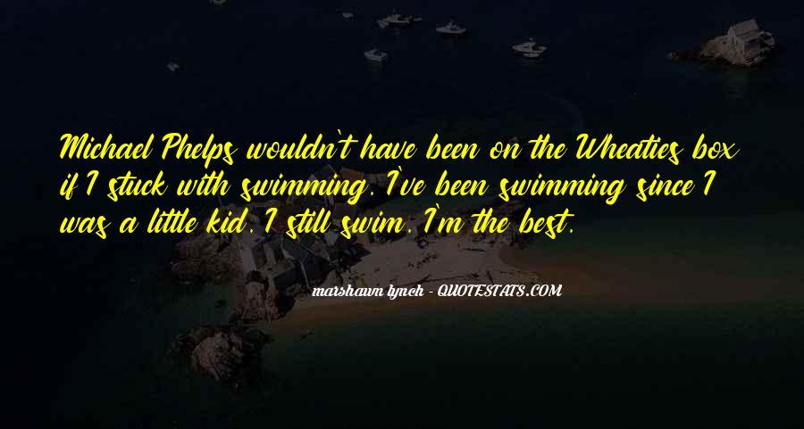 Best Swim Quotes #1517473