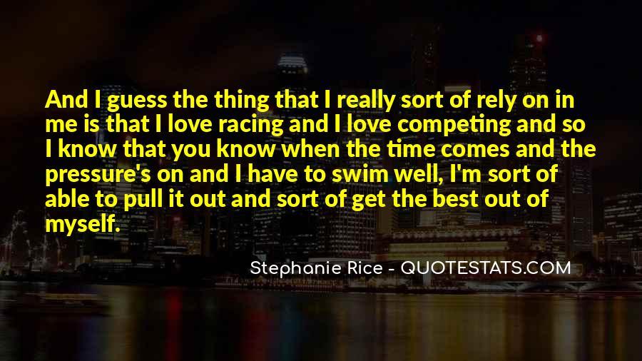 Best Swim Quotes #1597639
