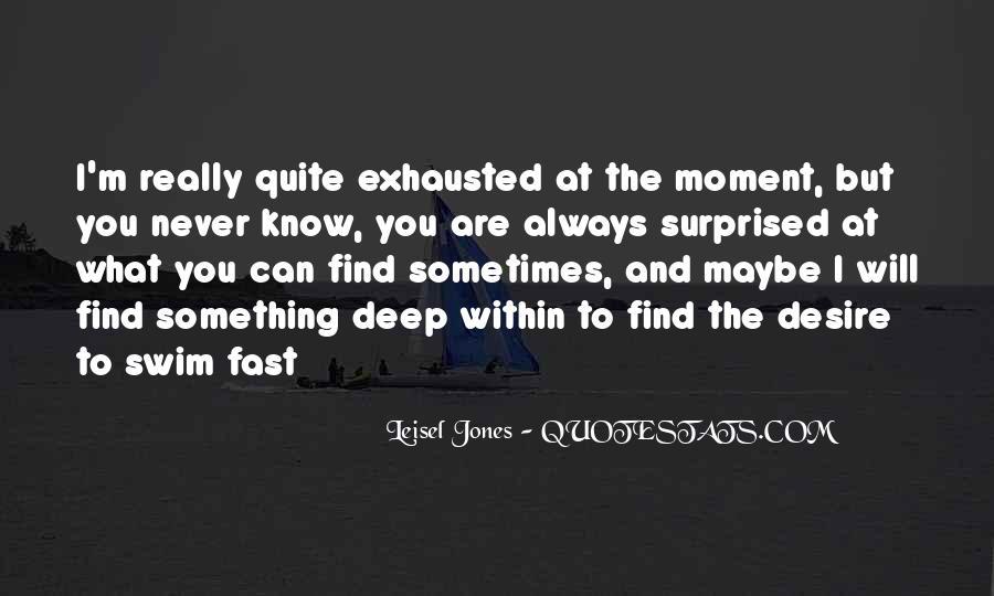 Best Swim Quotes #45138