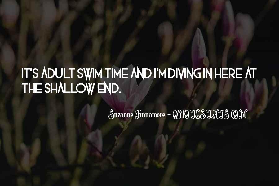 Best Swim Quotes #59018
