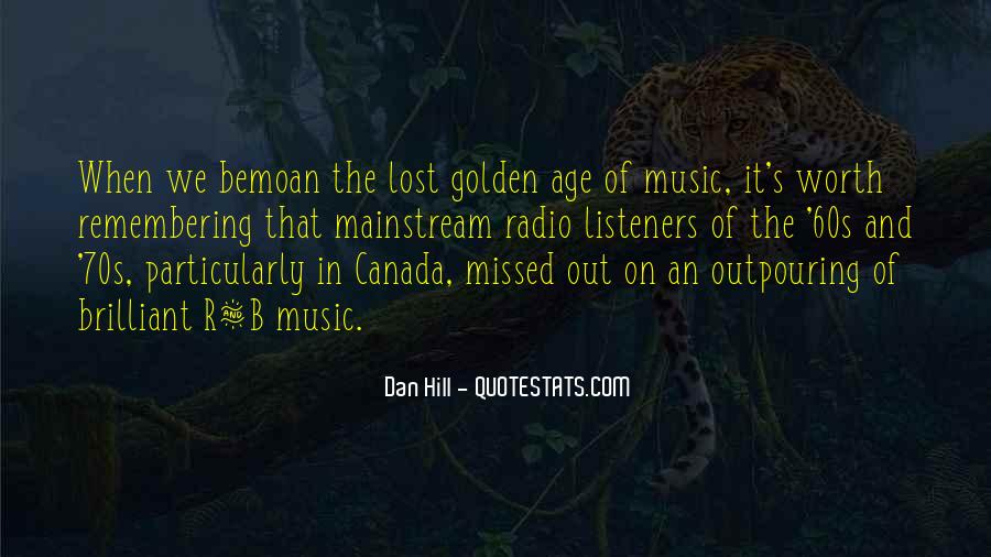 Quotes About Mainstream Music #1075862