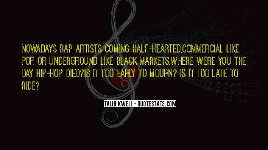 Best Talib Kweli Quotes #190322
