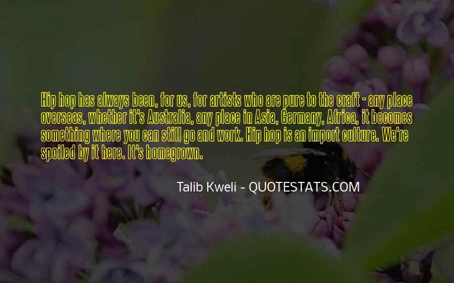 Best Talib Kweli Quotes #196892