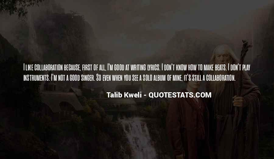 Best Talib Kweli Quotes #270737