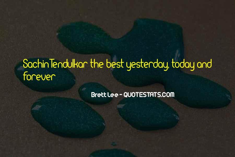 Best Tendulkar Quotes #1580759