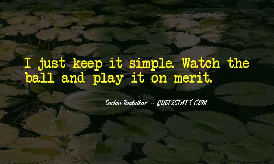 Best Tendulkar Quotes #293705