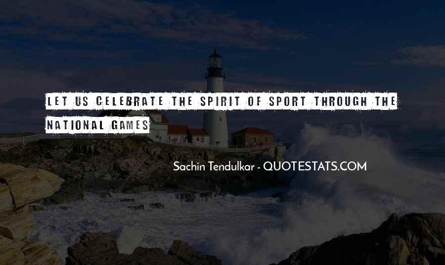 Best Tendulkar Quotes #308016