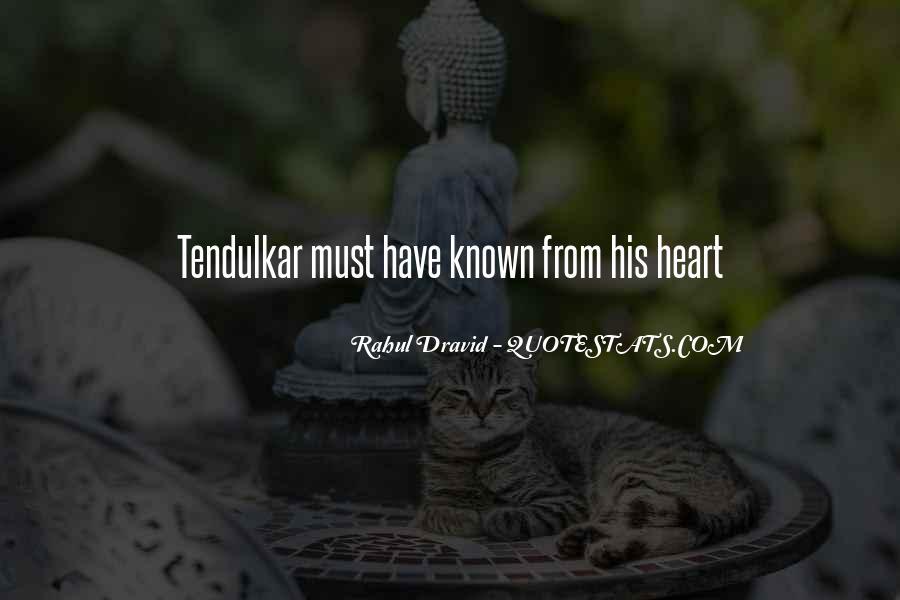 Best Tendulkar Quotes #3190