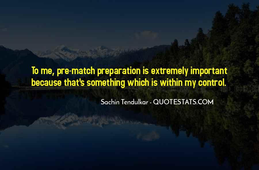 Best Tendulkar Quotes #359507
