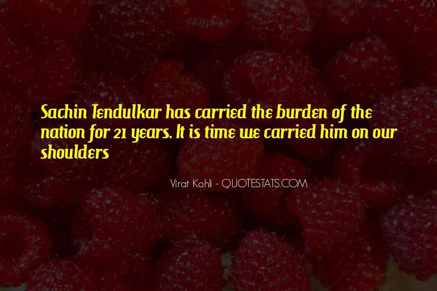 Best Tendulkar Quotes #464743