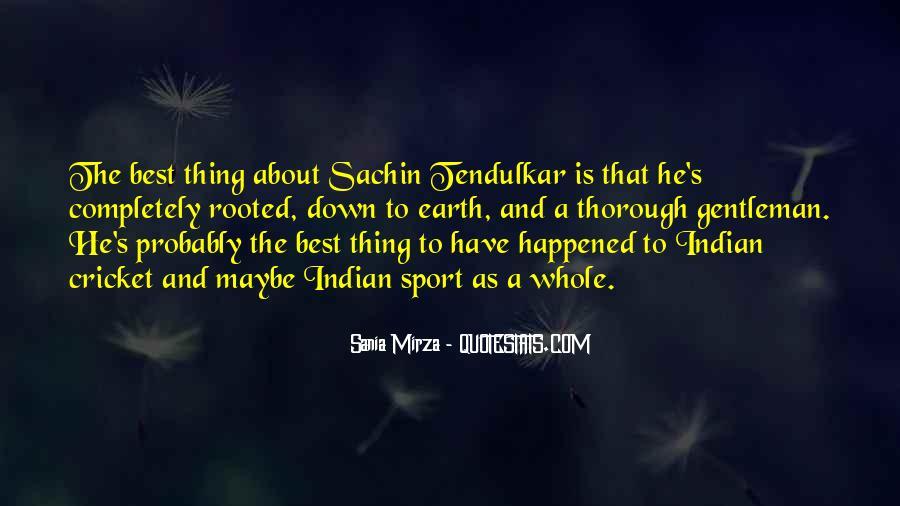 Best Tendulkar Quotes #526451