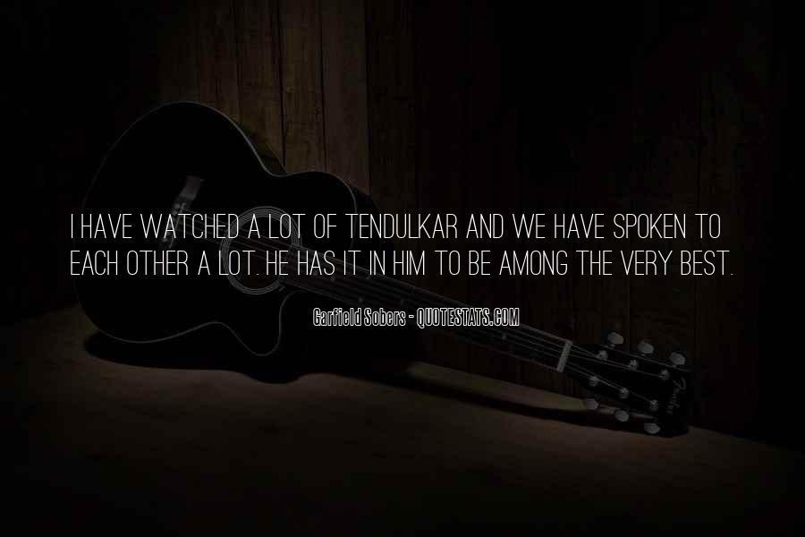 Best Tendulkar Quotes #620036