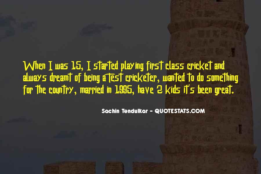 Best Tendulkar Quotes #72623
