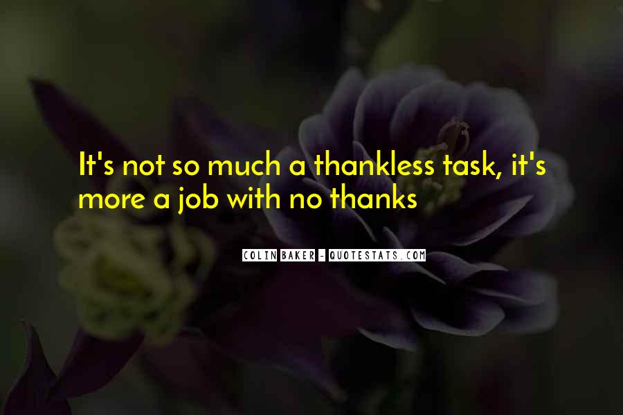 Best Thankless Quotes #486899