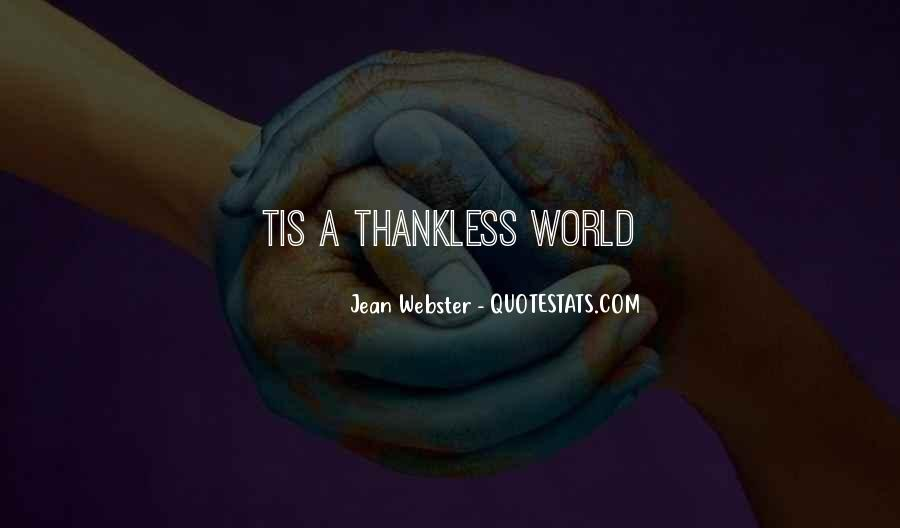 Best Thankless Quotes #756962