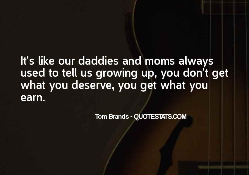 Best Tom Brands Quotes #1098324