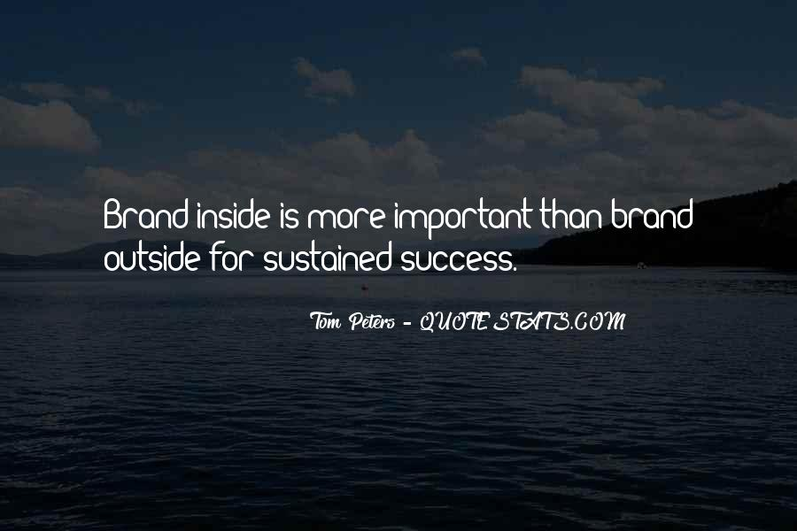 Best Tom Brands Quotes #1174676