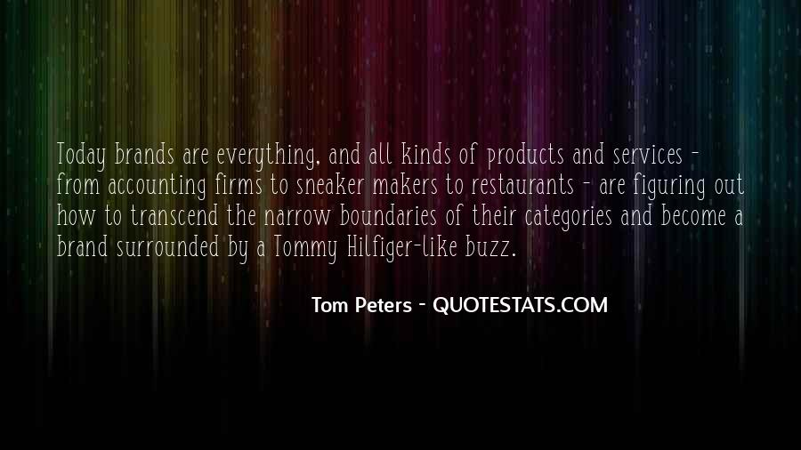 Best Tom Brands Quotes #1451954